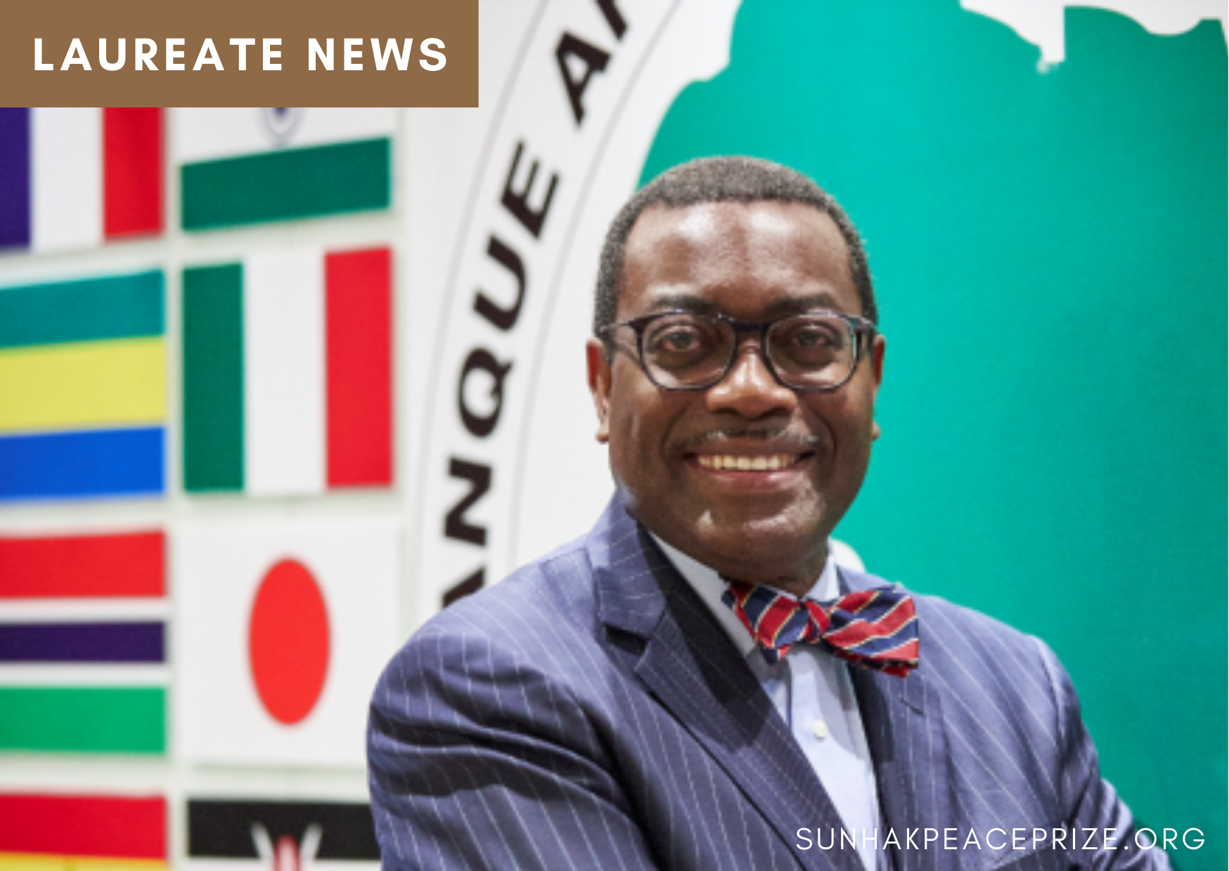 Dr. Akinwumi Adesina, Donates Cash Prizes of$500,000 to the World Fighters Foundation 썸네일